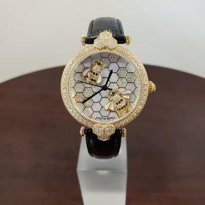 Judith Ripka Honey Bee Crystal Womens Watch